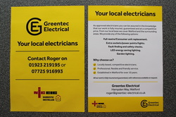 Eelctrical Leaflet Local Electricians NICEIC